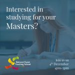 Interested in studying for your masters?